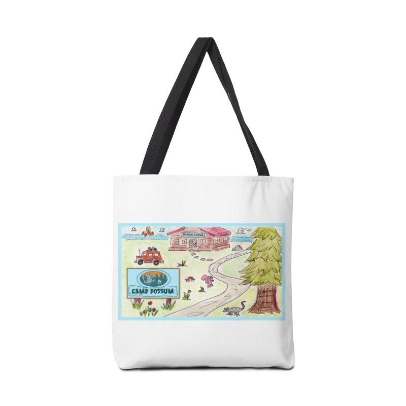 Camp Possum Watercolor #1 Accessories Bag by bigfiddleshow's Artist Shop
