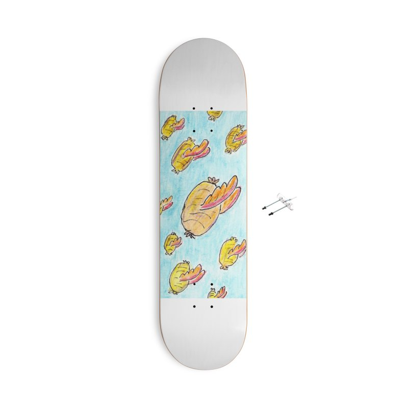 The Great Haggis Migration of 1909 Accessories Skateboard by bigfiddleshow's Artist Shop