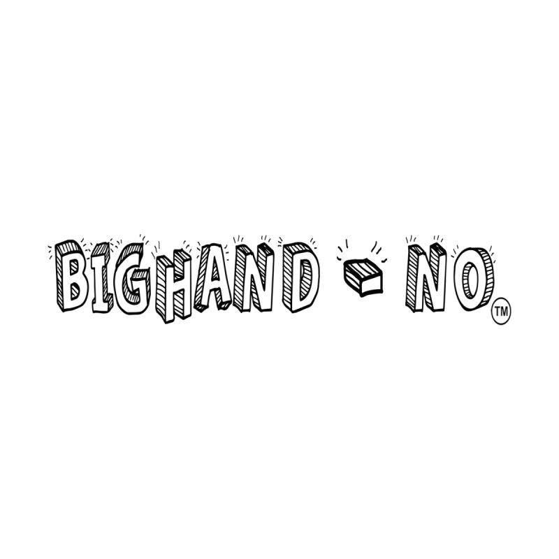 Text  Logo Kids T-Shirt by BIGHAND-NO's Artist Shop