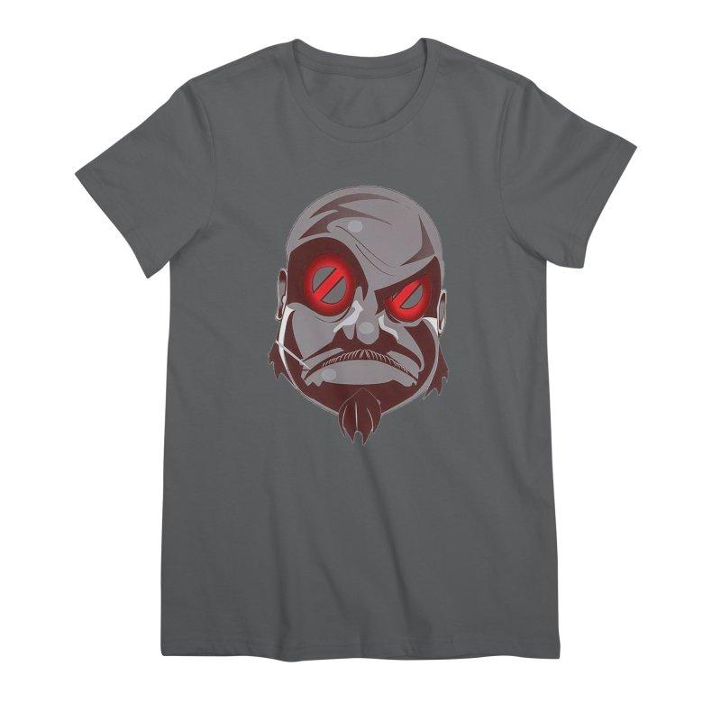 BIGFACE Women's T-Shirt by BIGHAND-NO's Artist Shop