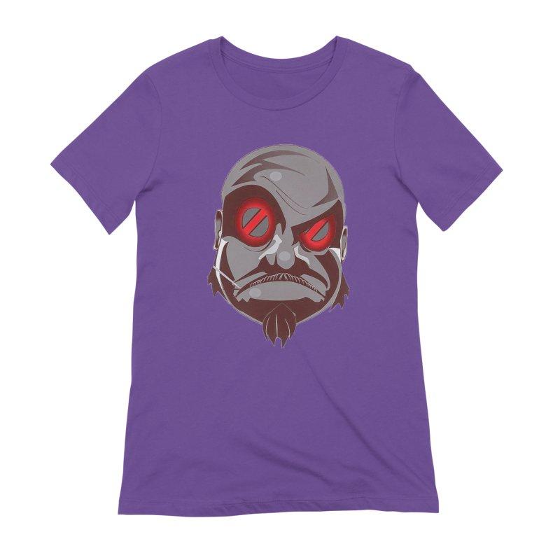 BIGFACE Women's Extra Soft T-Shirt by BIGHAND-NO's Artist Shop