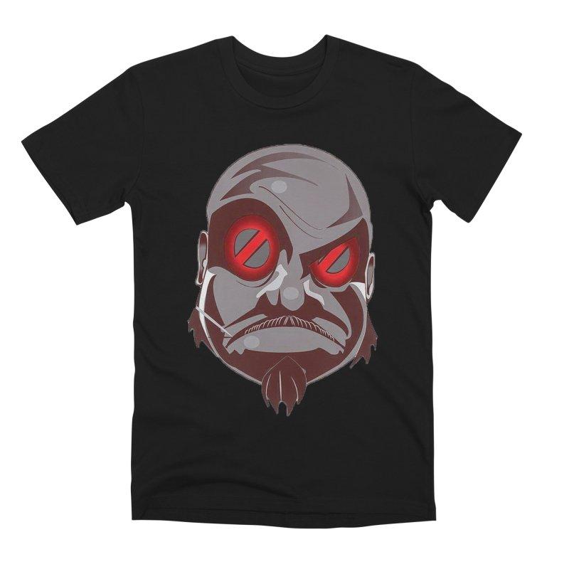 BIGFACE Men's Premium T-Shirt by BIGHAND-NO's Artist Shop