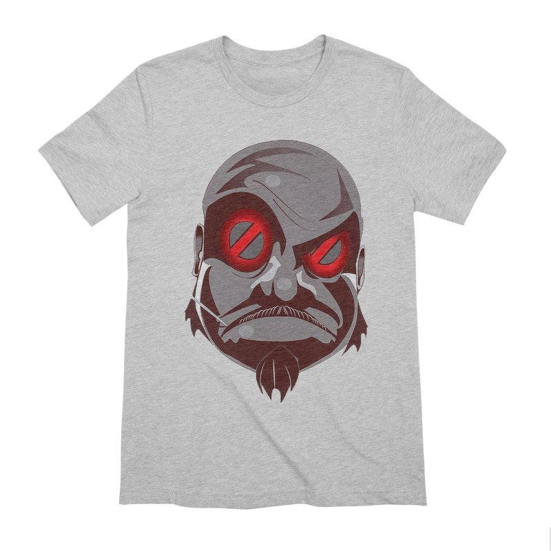 BIGFACE Men's Extra Soft T-Shirt by BIGHAND-NO's Artist Shop