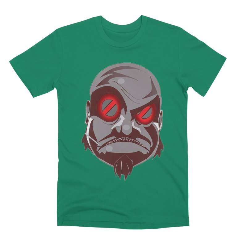 BIGFACE Men's Premium T-Shirt by BIGHAND-NO's Artist Shop