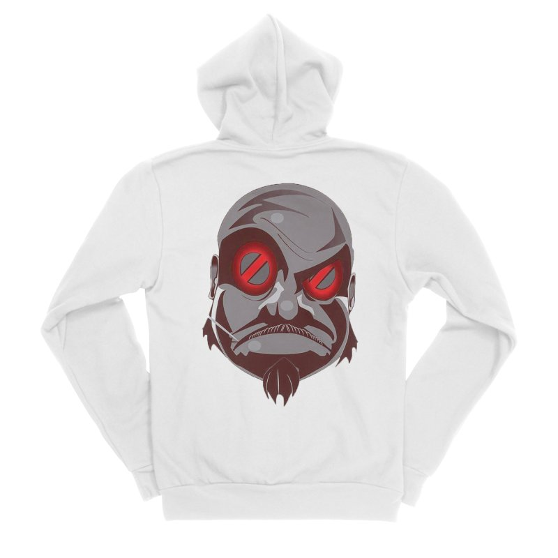 BIGFACE Men's Zip-Up Hoody by BIGHAND-NO's Artist Shop