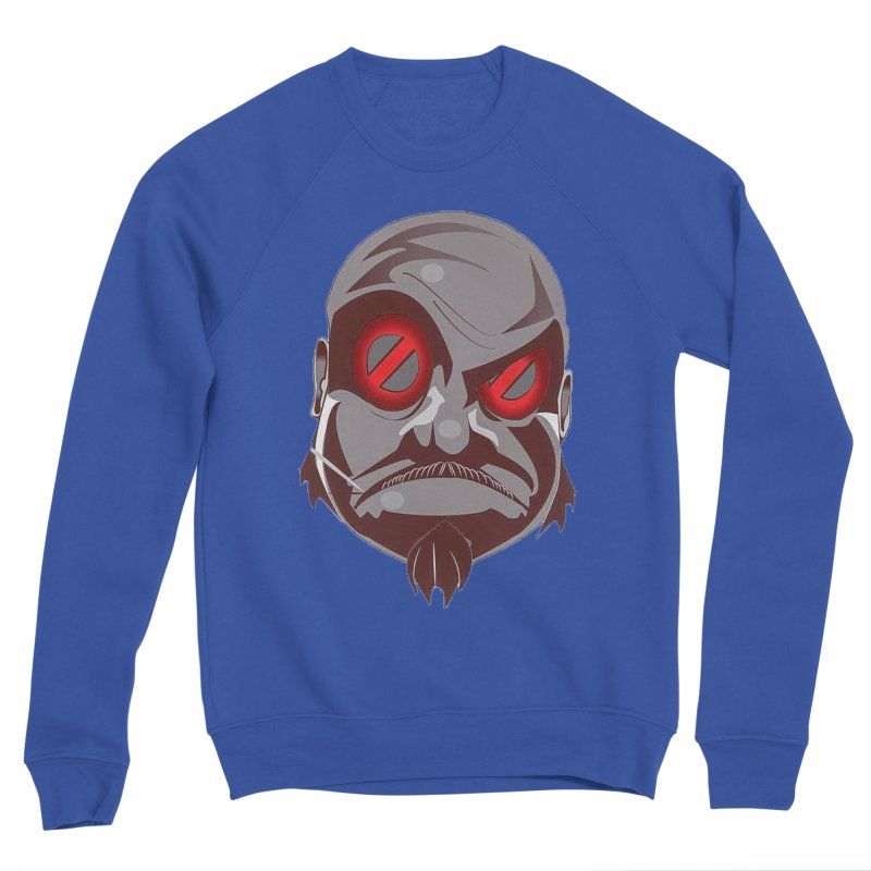 BIGFACE Men's Sponge Fleece Sweatshirt by BIGHAND-NO's Artist Shop