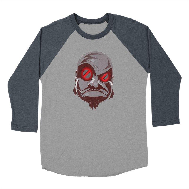 BIGFACE Women's Baseball Triblend Longsleeve T-Shirt by BIGHAND-NO's Artist Shop