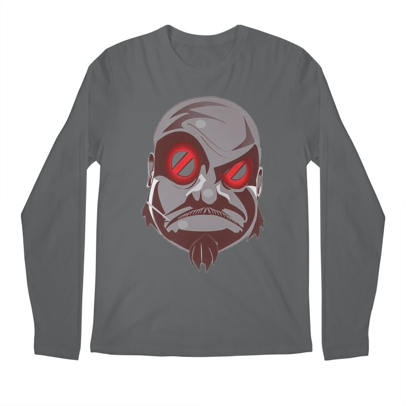 BIGFACE Men's Longsleeve T-Shirt by BIGHAND-NO's Artist Shop