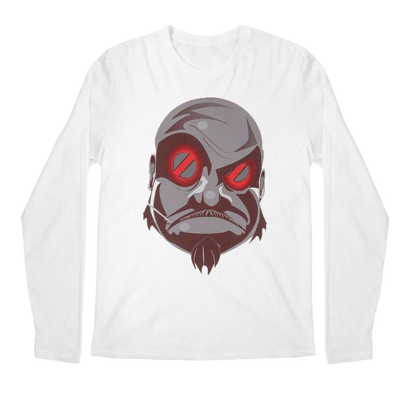 BIGFACE Men's Regular Longsleeve T-Shirt by BIGHAND-NO's Artist Shop