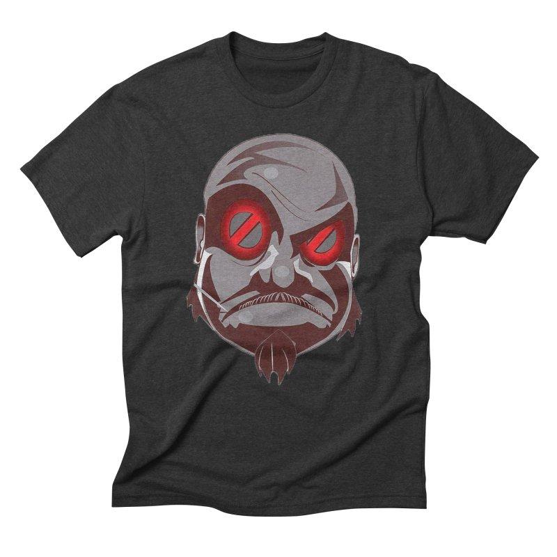 BIGFACE Men's Triblend T-Shirt by BIGHAND-NO's Artist Shop