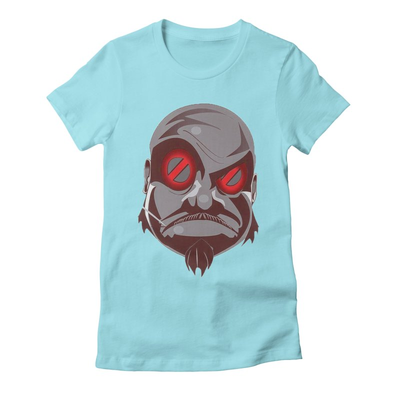 BIGFACE Women's T-Shirt by BIGHAND-NO's Artist Shop