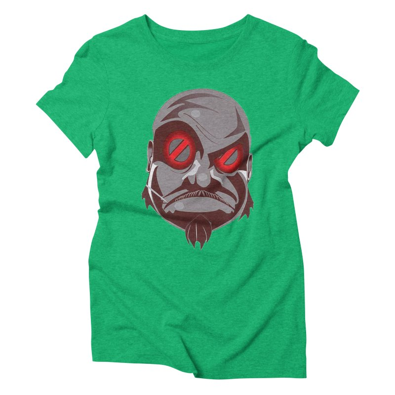 BIGFACE Women's Triblend T-Shirt by BIGHAND-NO's Artist Shop