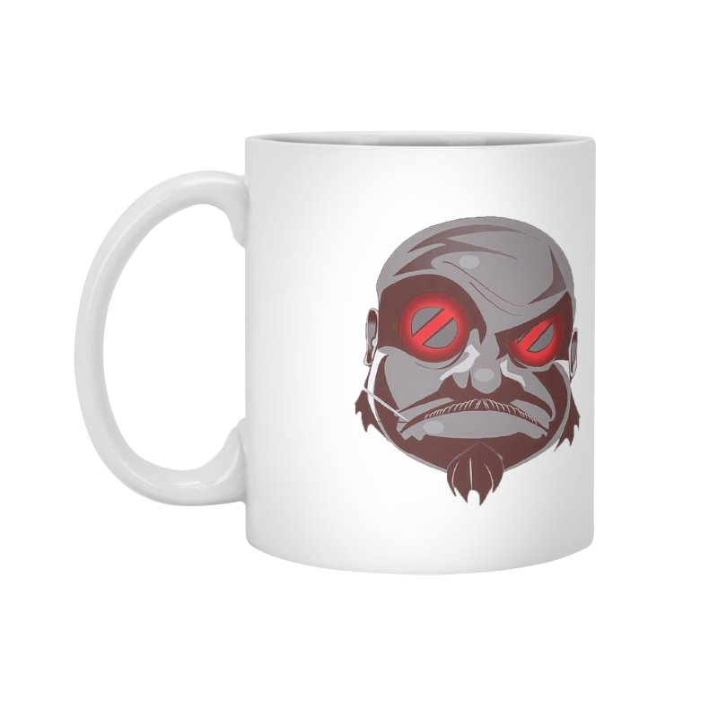 BIGFACE Accessories Mug by BIGHAND-NO's Artist Shop