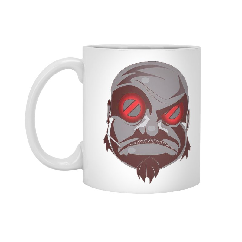 BIGFACE Accessories Standard Mug by BIGHAND-NO's Artist Shop