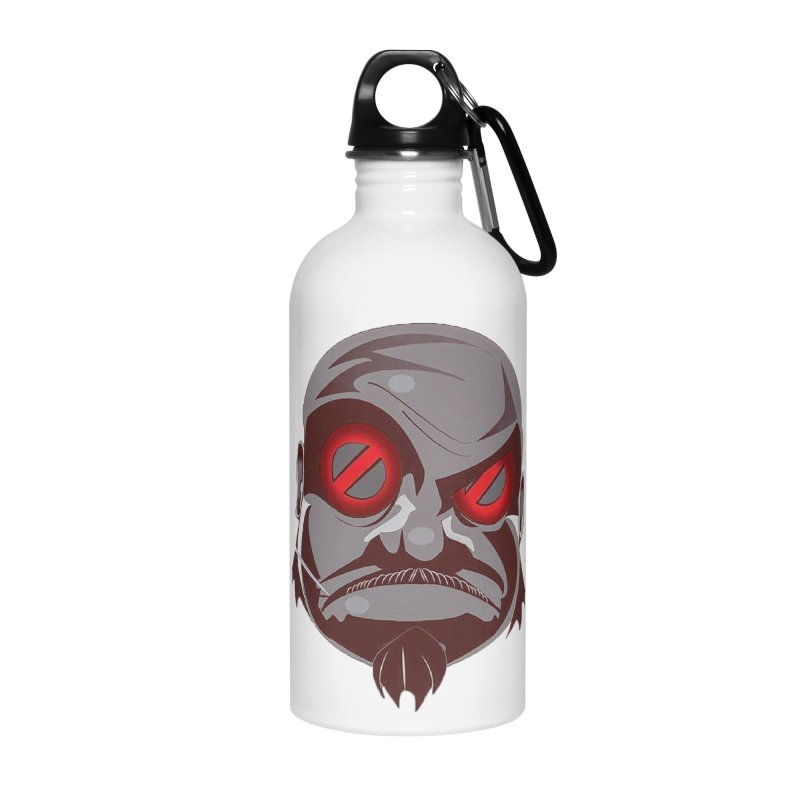 BIGFACE Accessories Water Bottle by BIGHAND-NO's Artist Shop