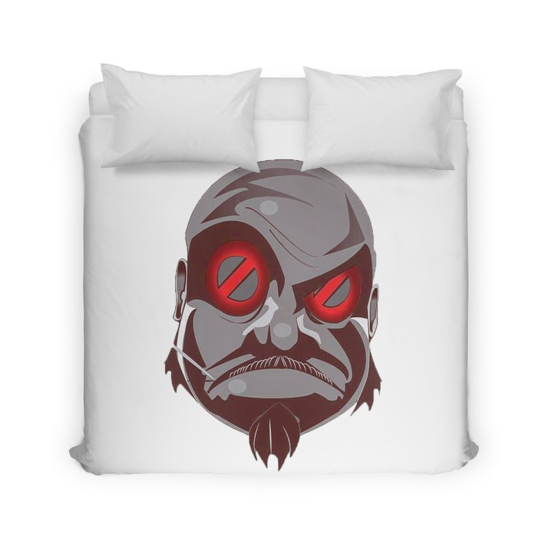 BIGFACE Home Duvet by BIGHAND-NO's Artist Shop