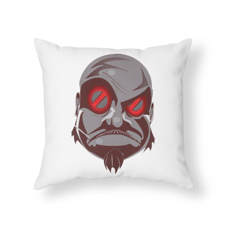 BIGFACE Home Throw Pillow by BIGHAND-NO's Artist Shop