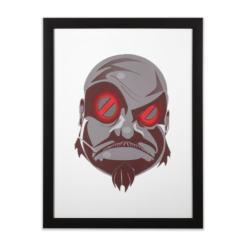 BIGFACE Home Framed Fine Art Print by BIGHAND-NO's Artist Shop