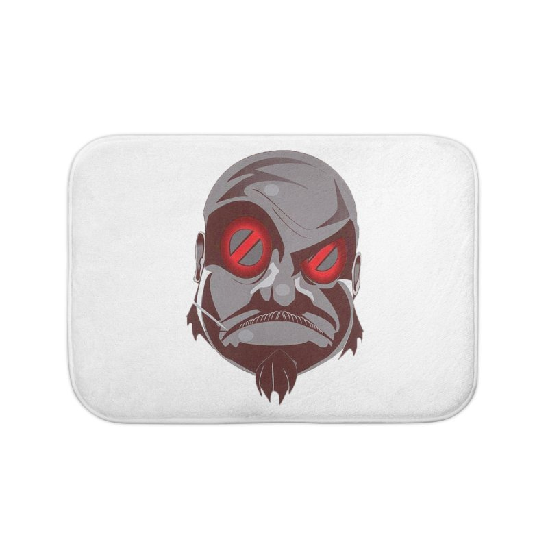 BIGFACE Home Bath Mat by BIGHAND-NO's Artist Shop