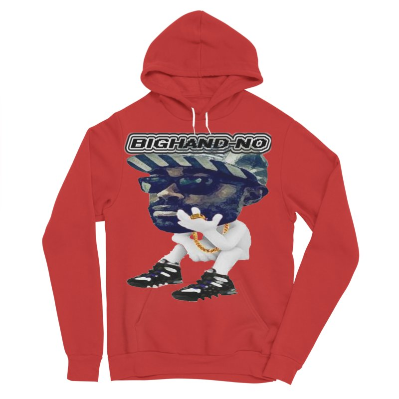 BIGHAND CHARACTER Women's Pullover Hoody by BIGHAND-NO's Artist Shop