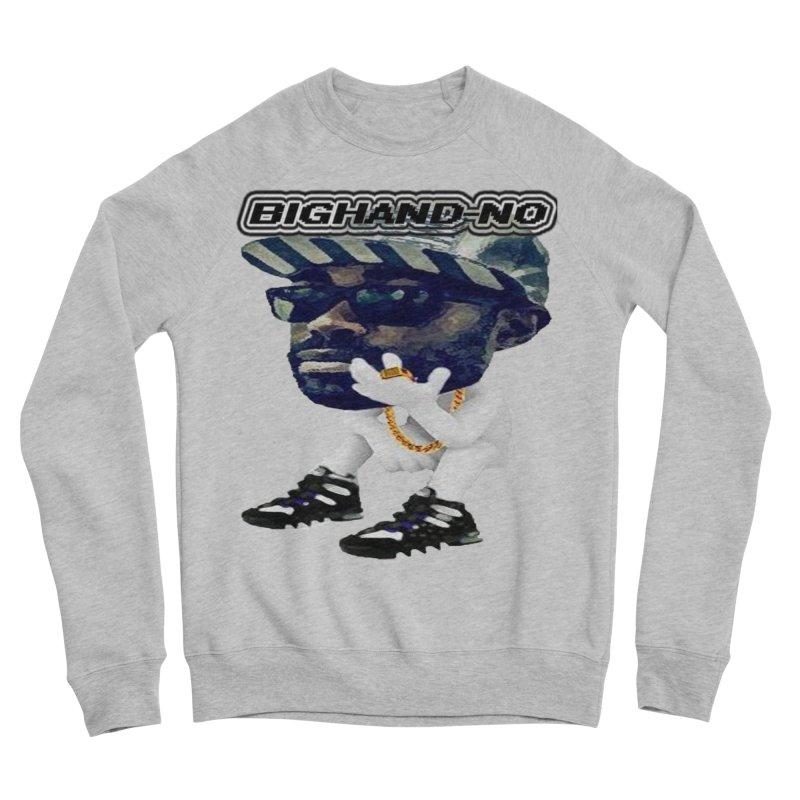 BIGHAND CHARACTER Women's Sponge Fleece Sweatshirt by BIGHAND-NO's Artist Shop