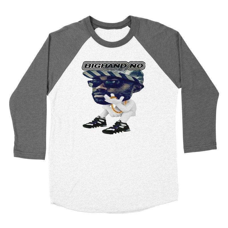 BIGHAND CHARACTER Women's Longsleeve T-Shirt by BIGHAND-NO's Artist Shop