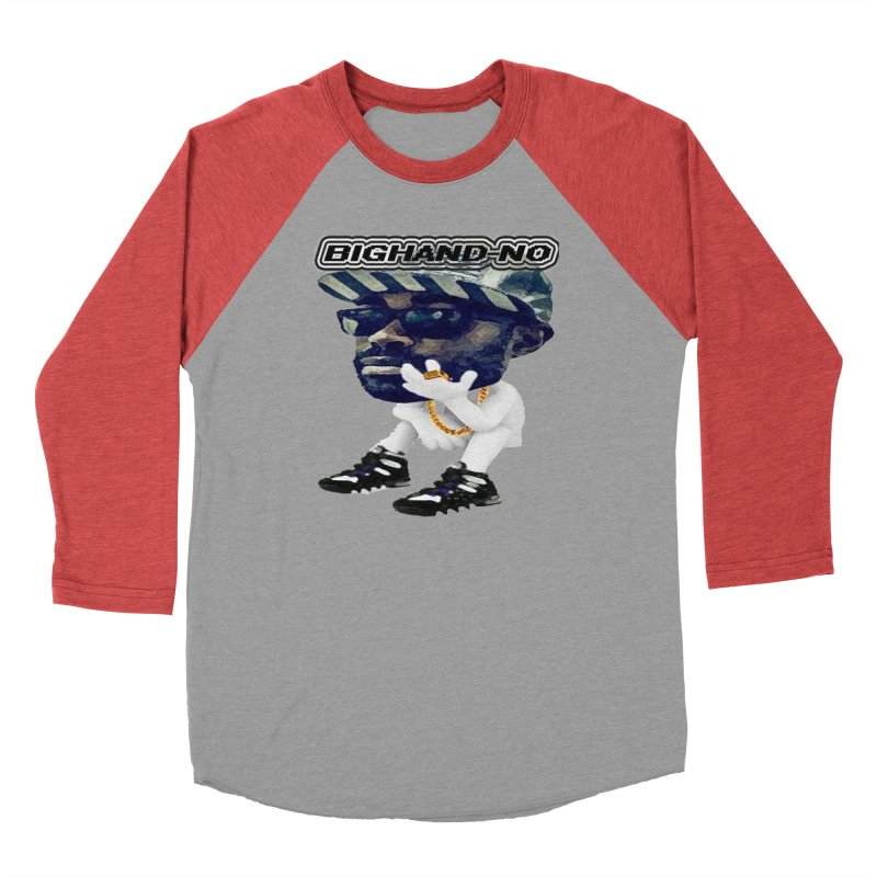 BIGHAND CHARACTER Men's Longsleeve T-Shirt by BIGHAND-NO's Artist Shop