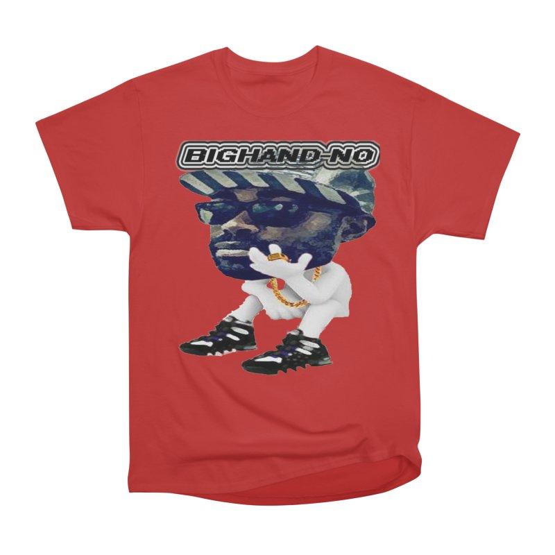 BIGHAND CHARACTER Men's Heavyweight T-Shirt by BIGHAND-NO's Artist Shop