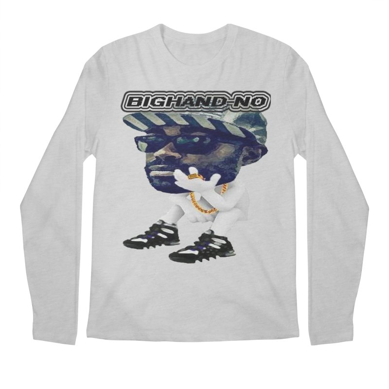 BIGHAND CHARACTER Men's Longsleeve T-Shirt by BIGHAND-NO's Artist Shop