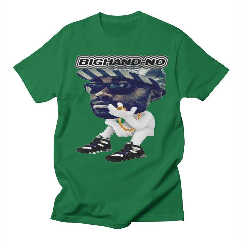 BIGHAND CHARACTER Men's Regular T-Shirt by BIGHAND-NO's Artist Shop