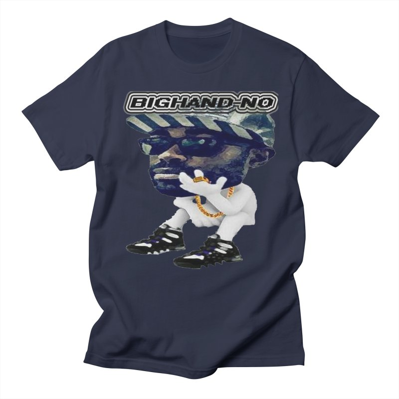 BIGHAND CHARACTER Men's Regular T-Shirt by BIGHAND-NO's Artist Shop