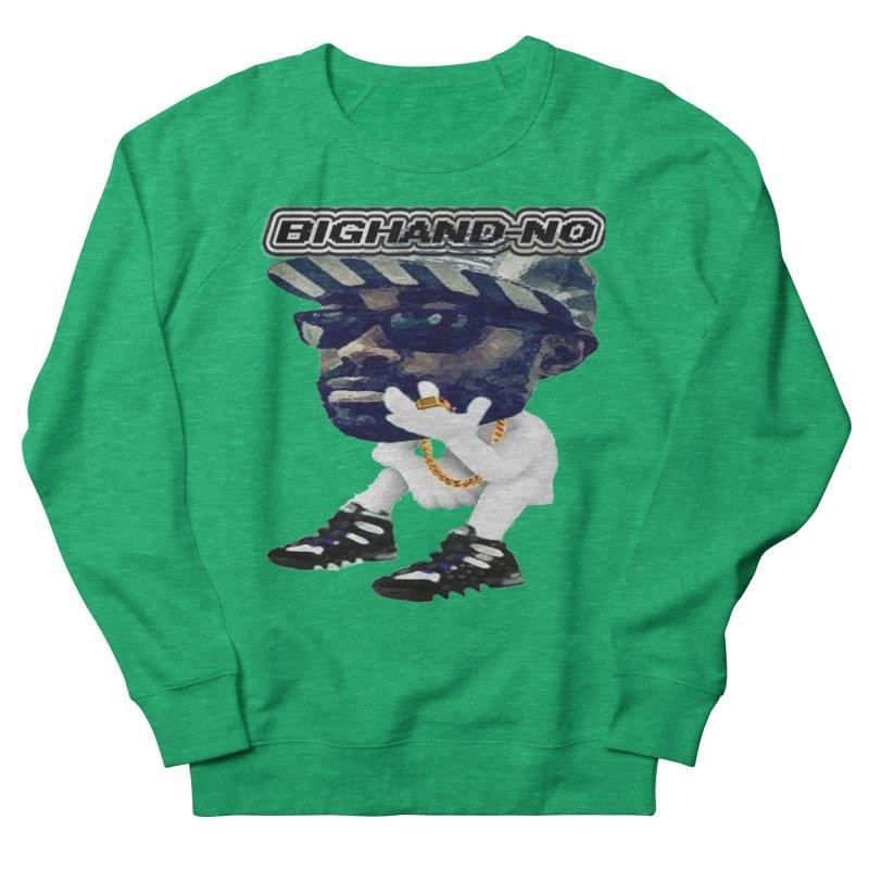 BIGHAND CHARACTER Women's Sweatshirt by BIGHAND-NO's Artist Shop