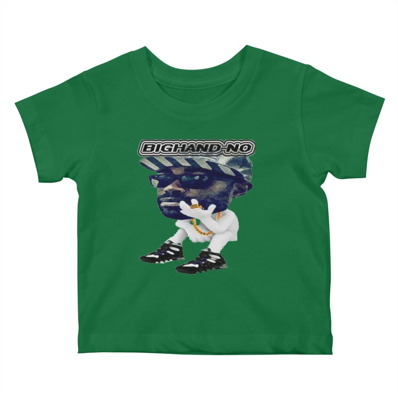 BIGHAND CHARACTER Kids Baby T-Shirt by BIGHAND-NO's Artist Shop
