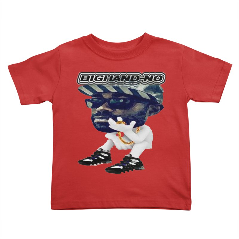 BIGHAND CHARACTER Kids Toddler T-Shirt by BIGHAND-NO's Artist Shop