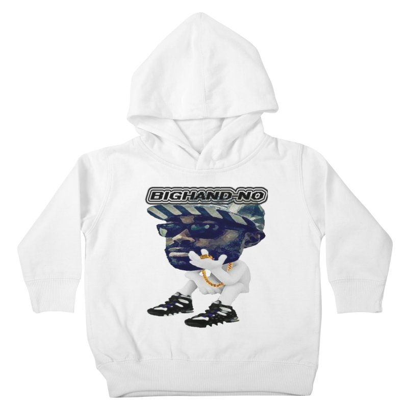 BIGHAND CHARACTER Kids Toddler Pullover Hoody by BIGHAND-NO's Artist Shop