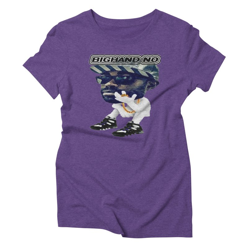 BIGHAND CHARACTER Women's T-Shirt by BIGHAND-NO's Artist Shop