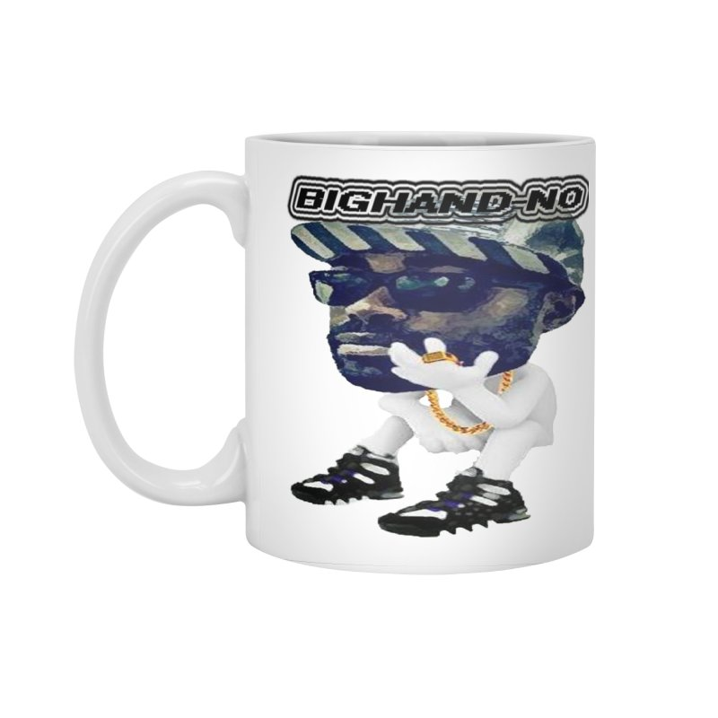 BIGHAND CHARACTER Accessories Standard Mug by BIGHAND-NO's Artist Shop