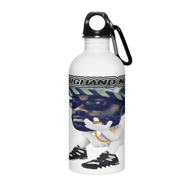BIGHAND CHARACTER Accessories Water Bottle by BIGHAND-NO's Artist Shop