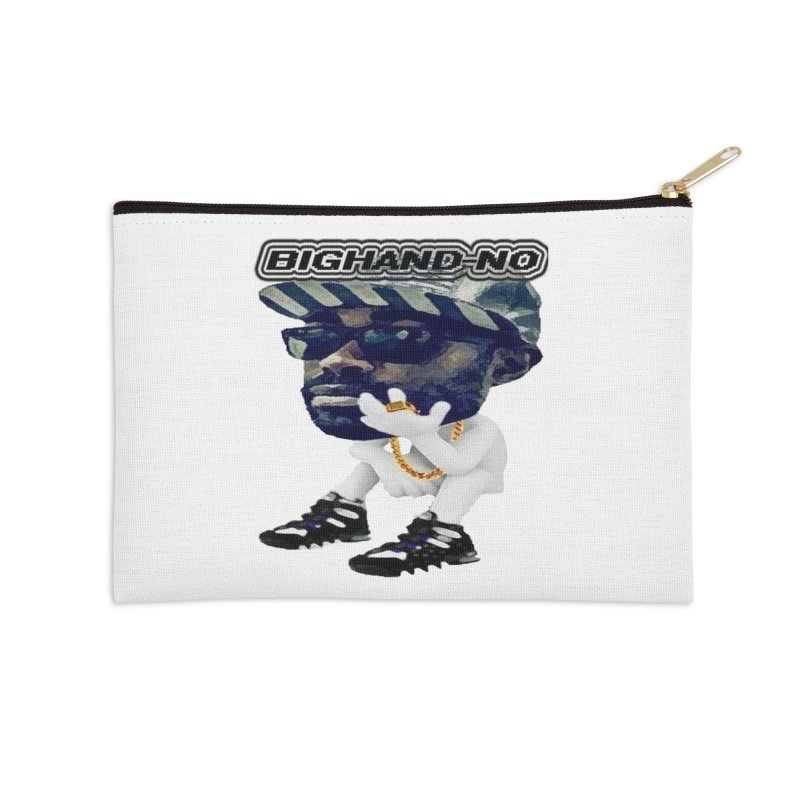 BIGHAND CHARACTER Accessories Zip Pouch by BIGHAND-NO's Artist Shop