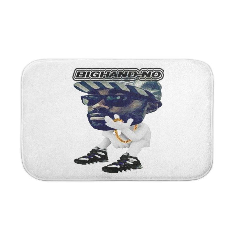 BIGHAND CHARACTER Home Bath Mat by BIGHAND-NO's Artist Shop