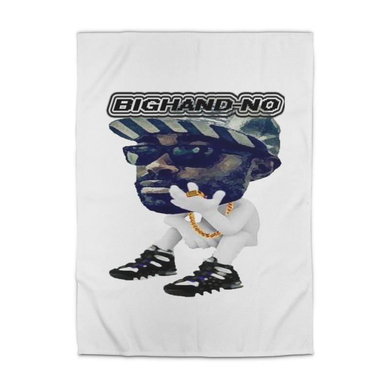 BIGHAND CHARACTER Home Rug by BIGHAND-NO's Artist Shop