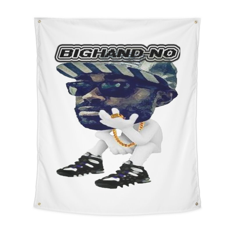 BIGHAND CHARACTER Home Tapestry by BIGHAND-NO's Artist Shop
