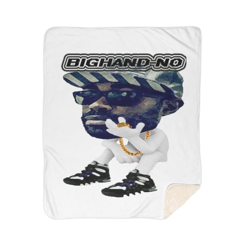 BIGHAND CHARACTER Home Blanket by BIGHAND-NO's Artist Shop