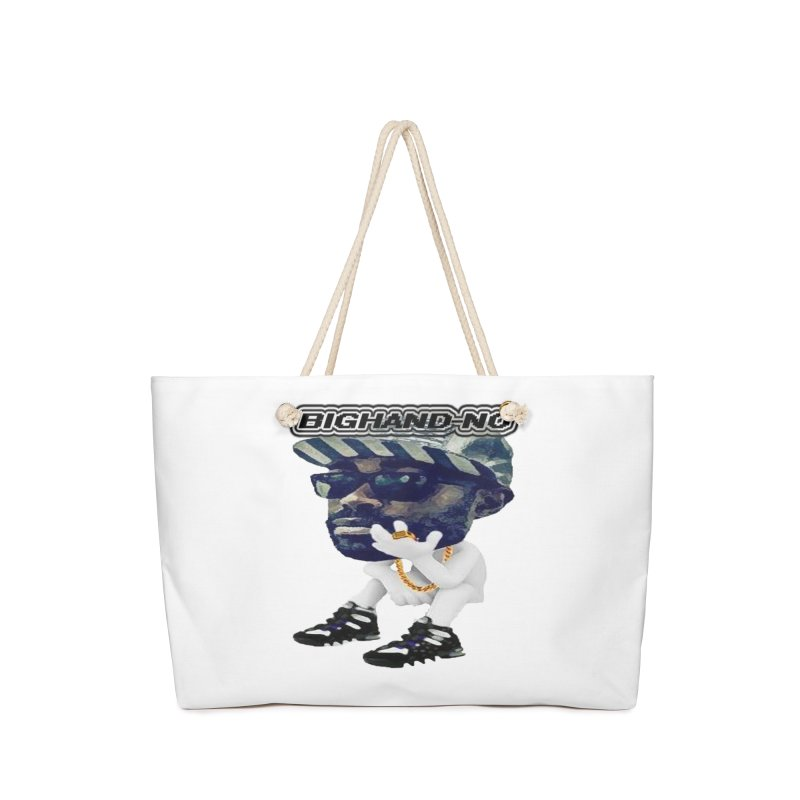 BIGHAND CHARACTER Accessories Bag by BIGHAND-NO's Artist Shop