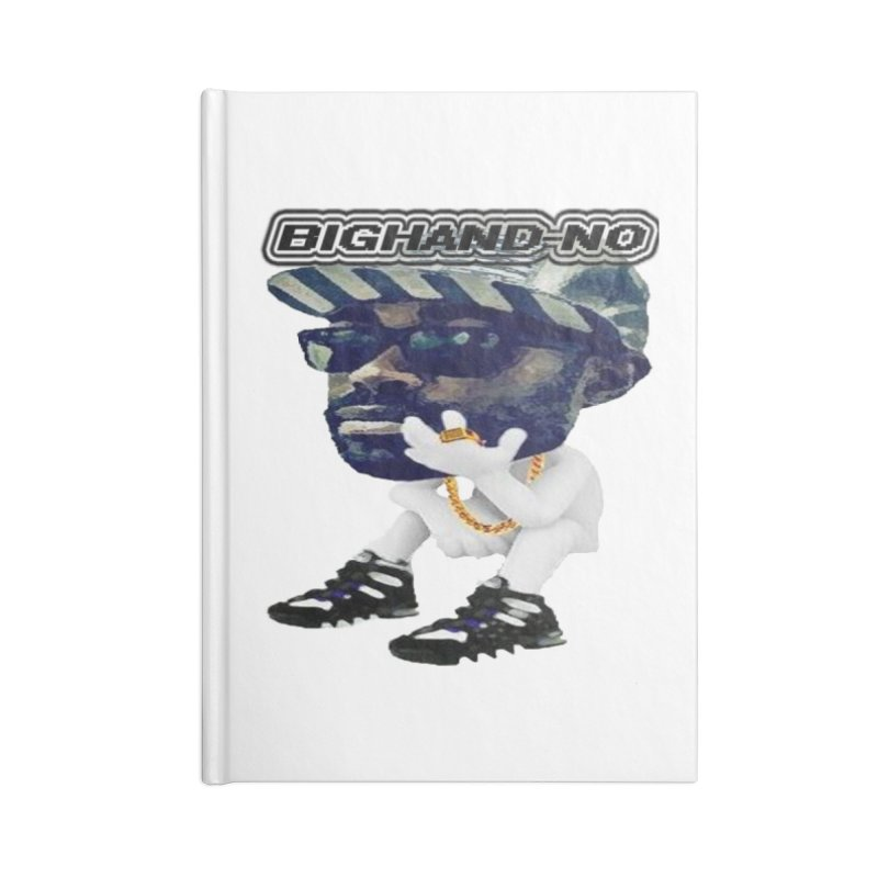 BIGHAND CHARACTER Accessories Blank Journal Notebook by BIGHAND-NO's Artist Shop