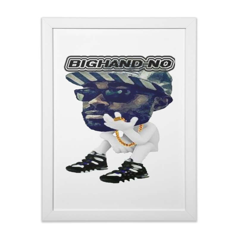BIGHAND CHARACTER Home Framed Fine Art Print by BIGHAND-NO's Artist Shop