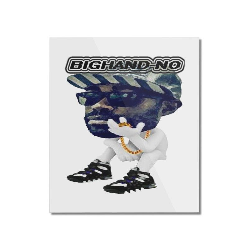 BIGHAND CHARACTER Home Mounted Acrylic Print by BIGHAND-NO's Artist Shop