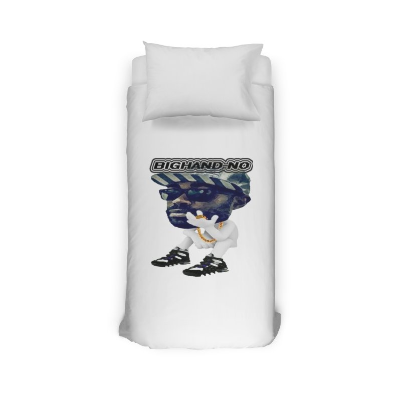 BIGHAND CHARACTER Home Duvet by BIGHAND-NO's Artist Shop