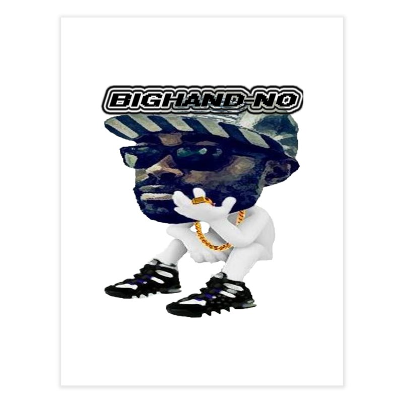 BIGHAND CHARACTER Home Fine Art Print by BIGHAND-NO's Artist Shop