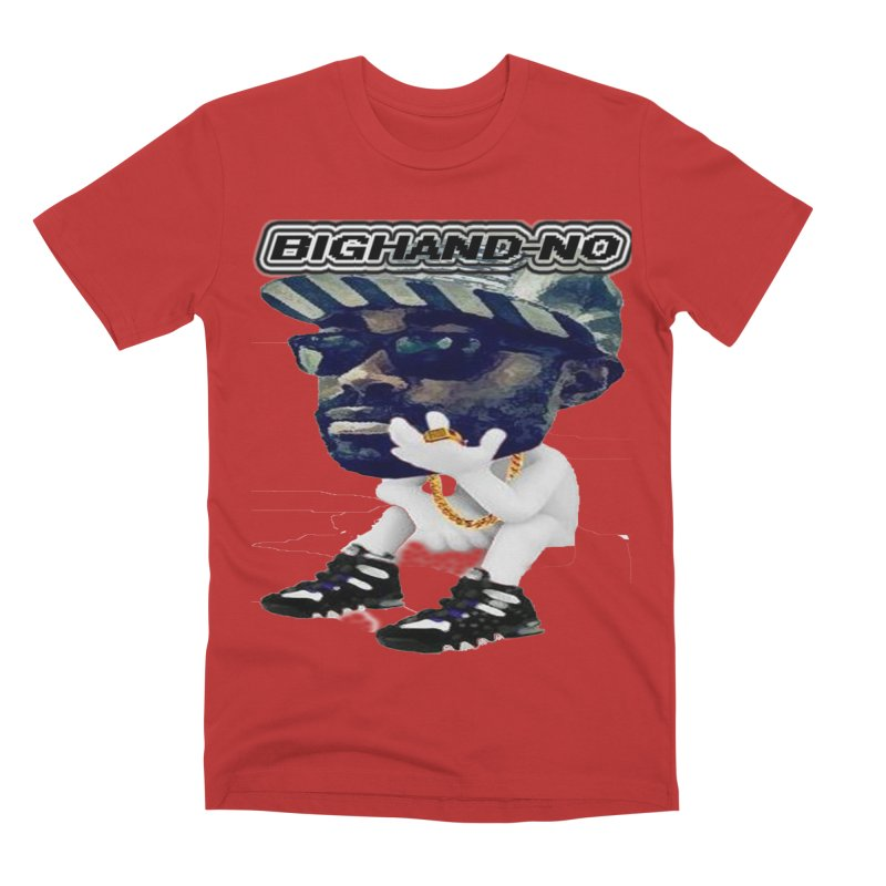 BIGHAND CHARACTER Men's Premium T-Shirt by BIGHAND-NO's Artist Shop